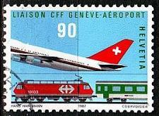 Buy SCHWEIZ SWITZERLAND [1987] MiNr 1338 ( O/used ) Flugzeuge