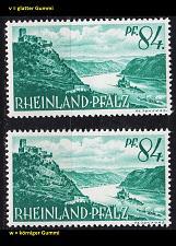 Buy GERMANY Alliiert Franz. Zone [RheinlPfalz] MiNr 0014 yv,yw ( **/mnh ) [01]