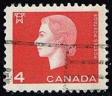 Buy Canada #404 Queen Elizabeth II and Electric Tower; Used (3Stars) |CAN0404-11