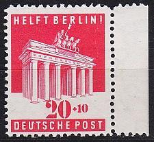 Buy GERMANY Alliiert AmBri [1948] MiNr 0102 E ( **/mnh )