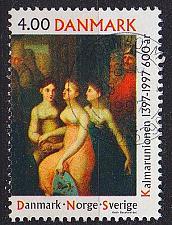 Buy DÄNEMARK DANMARK [1997] MiNr 1153 ( O/used ) Gemälde