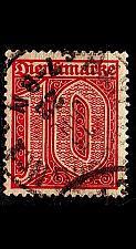Buy GERMANY REICH Dienst [1920] MiNr 0024 ( O/used )