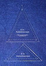 "Buy 2 Pc Kaleidoscope Set 8"" 1/8"" for 8"" Finished Square W/holes & Seam Allowance"