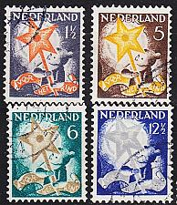 Buy NIEDERLANDE NETHERLANDS [1933] MiNr 0268-71 A ( O/used )