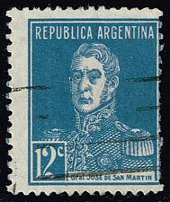 Buy Argentina #347 Jose de San Martin; Used (0.30) (1Stars) |ARG0347-03XBC