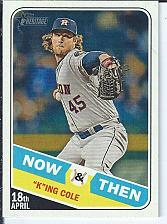 Buy Gerrit Cole 2018 Topps Heritage High Numbers Now & Then