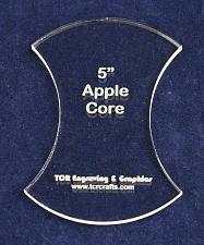 """Buy Apple Core 5"""" Height - Clear 1/4"""" Thick Acrylic"""