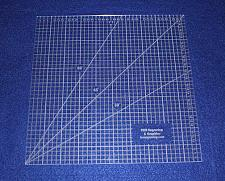 """Buy 10"""" Square Ruler. Acrylic 1/4"""" thick. Quilting/Sewing/Embroidery"""