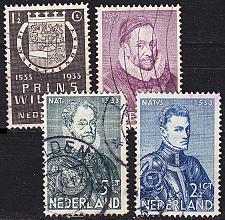 Buy NIEDERLANDE NETHERLANDS [1933] MiNr 0257-60 ( O/used )
