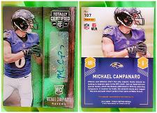 Buy NFL Michael campanaro autographed 2014 Panini totally certified RC #107 Nrmnt