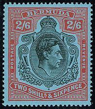 Buy Bermuda #124a King George VI; MNH (5Stars) |BER0124a-02XRP