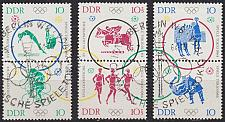 Buy GERMANY DDR [1964] MiNr 1039-44 ( O/used ) [01] Olympiade div. Zusammendrucke