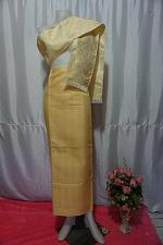 Buy Dandelion Thai Lanna Synthetic Silk sinh Skirt Pha Bieng Tailor to your size