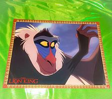 Buy Vintage Walt Disney's THE LION KING 11x14 Glossy Lobby Card 5 Rare
