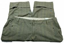 Buy Venezia Womens Capri Pants Size 28 Brown Gray Plaid Pockets