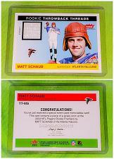 Buy NFL Matt Schaub Atlanta Falcons 2004 Fleer Tradition Game-worn Jersey Mnt