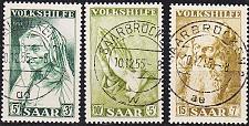 Buy GERMANY Saar [1955] MiNr 0365-67 ( O/used )