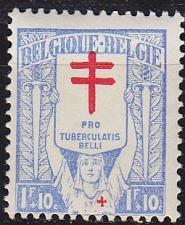 Buy BELGIEN BELGIUM [1925] MiNr 0206 ( */mh )