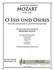 Buy Mozart - O Isis uns Osiris (Bass aria from The Magic Flute)