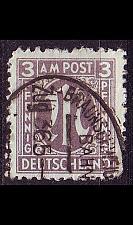 Buy GERMANY Alliiert AmBri [1945] MiNr 0017 a A ( O/used ) [02] Banhpost