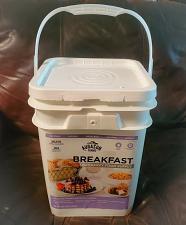 Buy Augason Farms Breakfast Emergency Food Supply 4 Gallon Pail, Food Storage