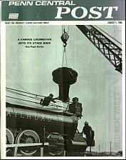 Buy Penn Central Railroad Post Magazine 78 Issue Collection On Disc