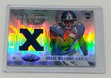 Buy NFL ANDRE WILLIAMS GIANTS 2014 PANINI CERTIFIED GAME-WORN JERSEY REFRACTOR /599