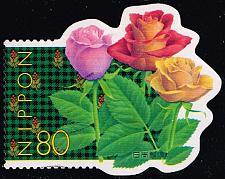 Buy Japan #2668b Roses; Used (5Stars) |JPN2668b-02XDT