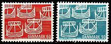 Buy DÄNEMARK DANMARK [1968] MiNr 0475-76 ( **/mnh )