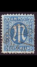 Buy GERMANY Alliiert AmBri [1945] MiNr 0026 b B ( O/used )
