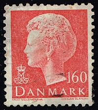Buy Denmark #638 Queen Margrethe; Used (3Stars) |DEN0638-01XBC