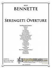 Buy Bennette - Serengeti Overture