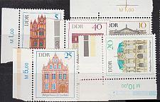 Buy GERMANY DDR [1969] MiNr 1434-39 ( **/mnh ) Bauwerke