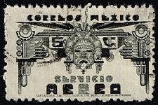 Buy Mexico #C170 Symbols of Air Service; Used (2Stars) |MEXC170-01XRS