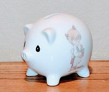 Buy Vintage Precious Moments Month of May Collectible Porcelain Piggy Bank Rare