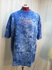 Buy French Quarter New Orleans NOLA Tie Dyed Embroidered T shirt XL