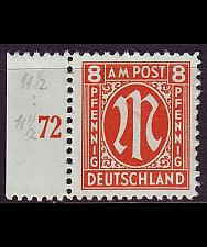 Buy GERMANY Alliiert AmBri [1945] MiNr 0021 D ( **/mnh )