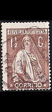 Buy PORTUGAL [1912] MiNr 0207 Ay ( O/used )