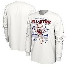 Buy LeBron James Nike White 2020 NBA All-Star Weekend Player Long Sleeve T-Shirt