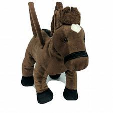 "Buy Russ Brown Horse Zipper Purse Plush Stuffed Animal 13"" Tall"