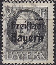 Buy GERMANY Bayern Bavaria [1919] MiNr 0158 A ( O/used )