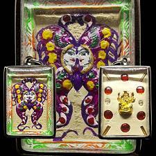 Buy GANESHA BUTTERFLY KRUBA KRISSANA 4 TAKRUT Thai Buddha Amulet Pendant Thailand