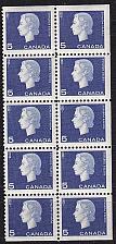 Buy KANADA CANADA [1962] MiNr 0352 ( **/mnh ) [02] 10er ob re un geschnitten!!