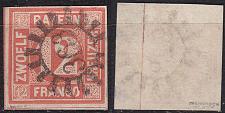 Buy GERMANY Bayern Bavaria [1850] MiNr 0006 ( O/used ) [01]