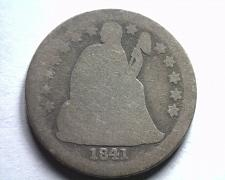 Buy 1841 SEATED LIBERTY DIME ABOUT GOOD / GOOD AG/G NICE ORIGINAL COIN BOBS COIN