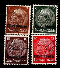 Buy GERMANY REICH Besetzung [Luxemburg] MiNr 0001 ex ( O/used ) [01]