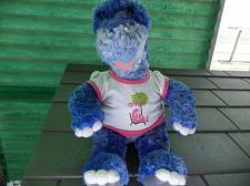 Buy Build A Bear Purple Plush Dinosaur