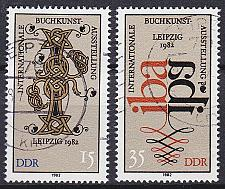 Buy GERMANY DDR [1982] MiNr 2697-98 ( OO/used )