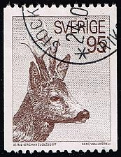 Buy Sweden #750A European Roe Deer; Used (1Stars) |SVE0750A-05