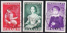 Buy GERMANY Saar [1954] MiNr 0354-56 ( O/used )